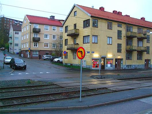 Spåröverfart vid Dahlströmsgatan