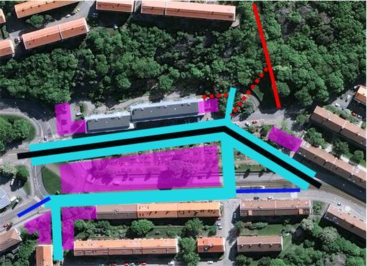 Visionär plan för området runt Djurgårdens begravningsplats