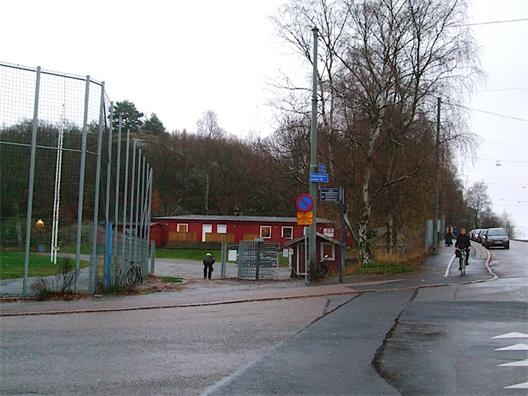 Korsningen mellan Ekedalsgatan och Såggatan