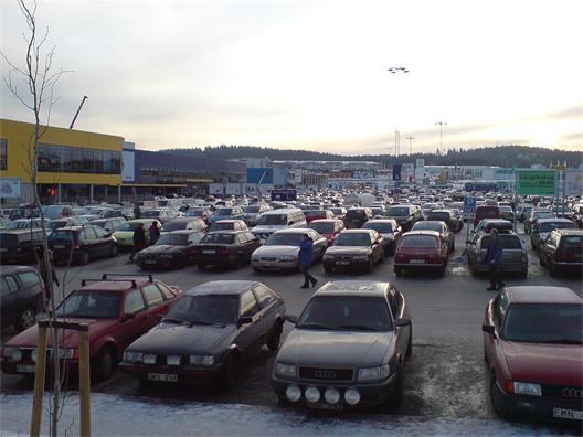 Birsta City i Sundsvall