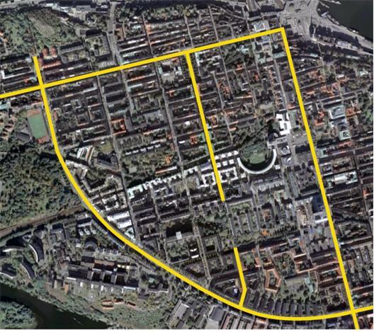 Hornsgatan, Götgatan, Ringvägen, Swedenborgsgatan, Grindsgatan