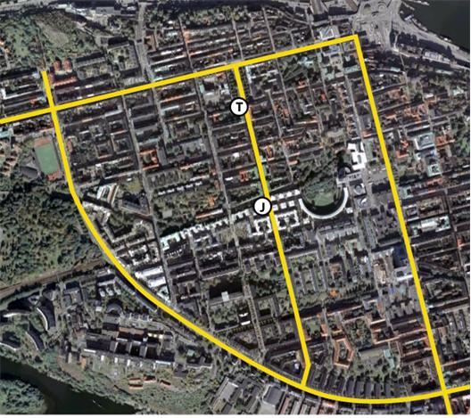 Tunnelbane- och Pendeltågsstationer på Swedenborgsgatan