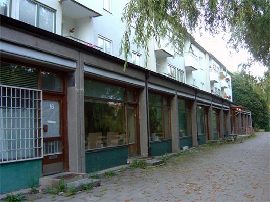 Butikslokaler i Årstaberg