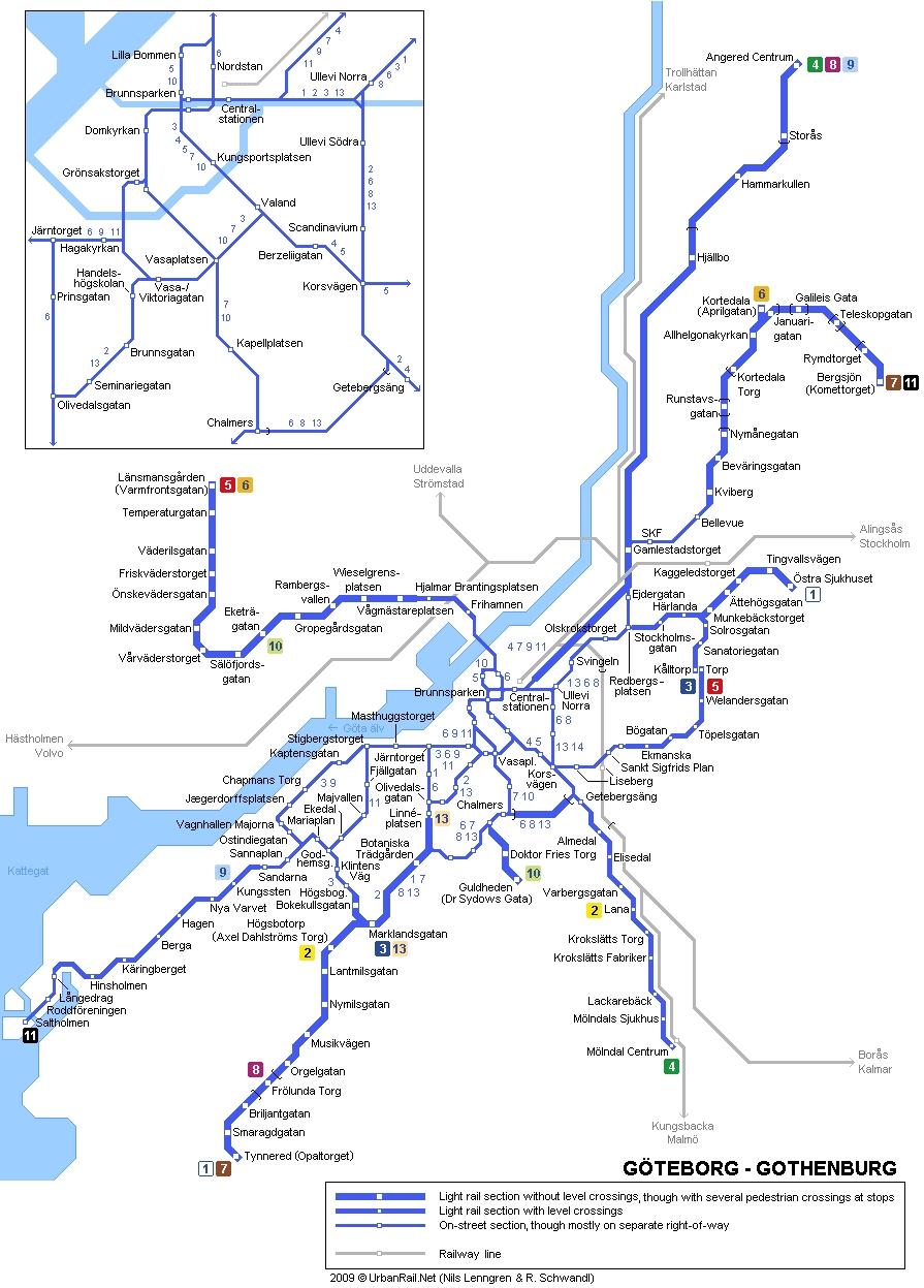 spårvagnsnätet göteborg karta Krönika: Allélänken   Yimby Göteborg spårvagnsnätet göteborg karta