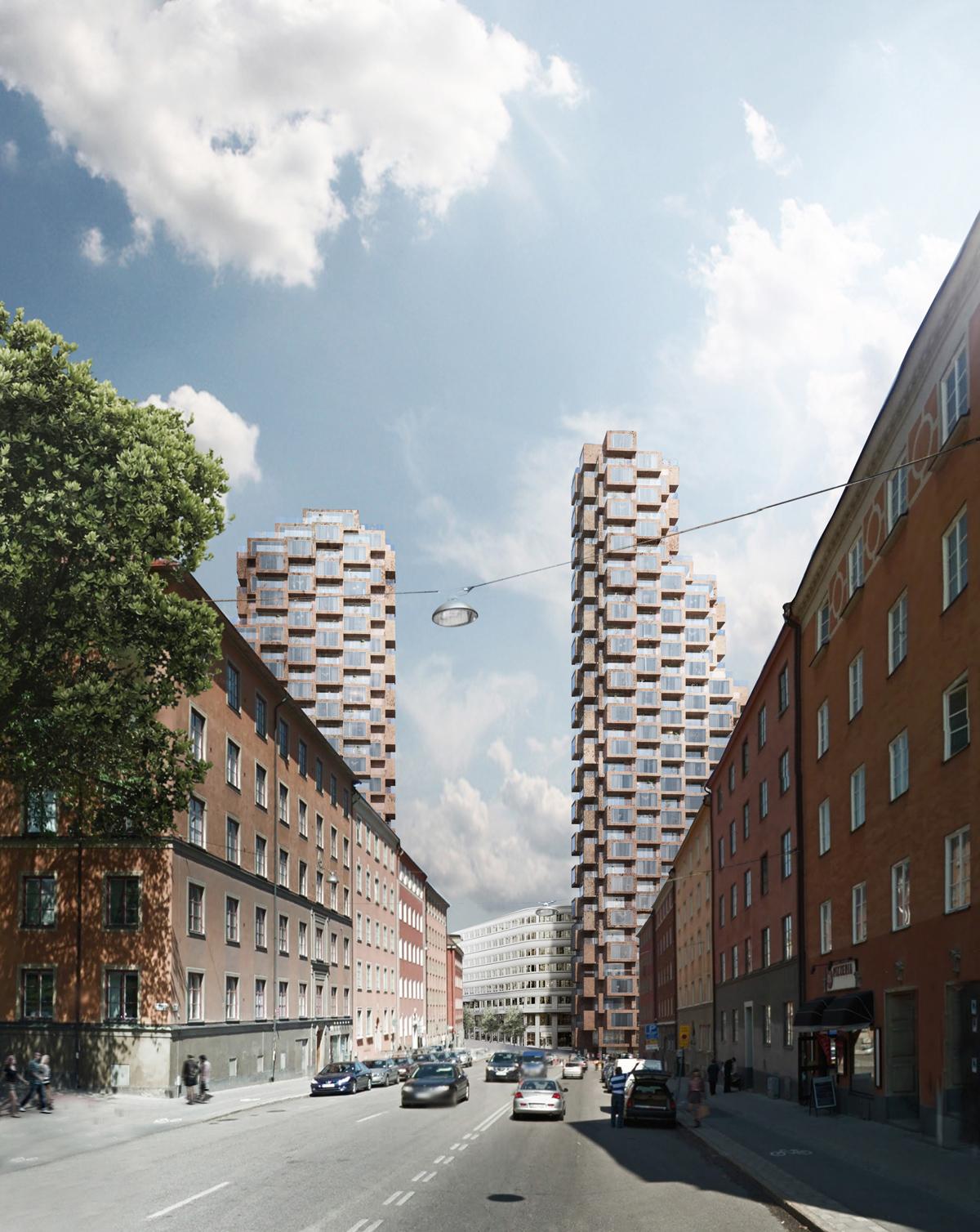 Nya tors torn presenterade yimby stockholm - Att architekten ...