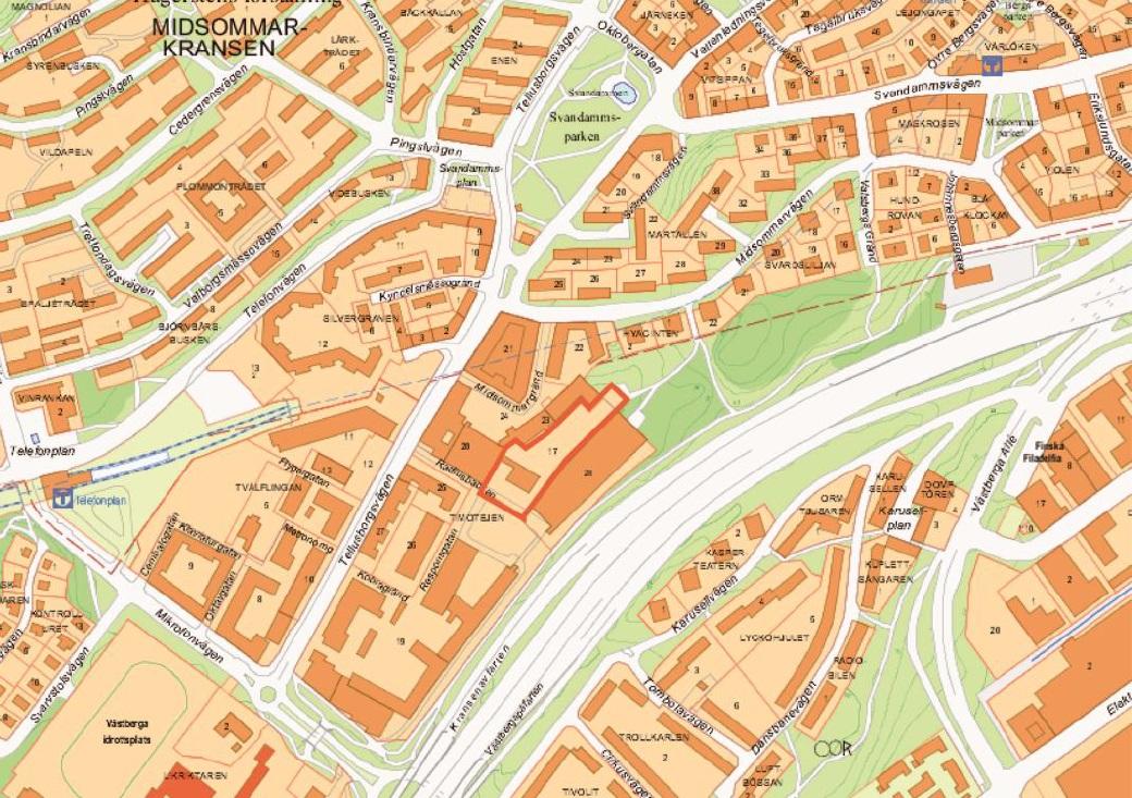 Norra Europas Hogsta Bostadshus Planeras Vid Telefonplan Yimby