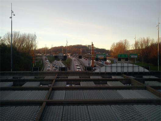 Tingstadstunneln - köer är SCAFT-samhällets normaltillstånd