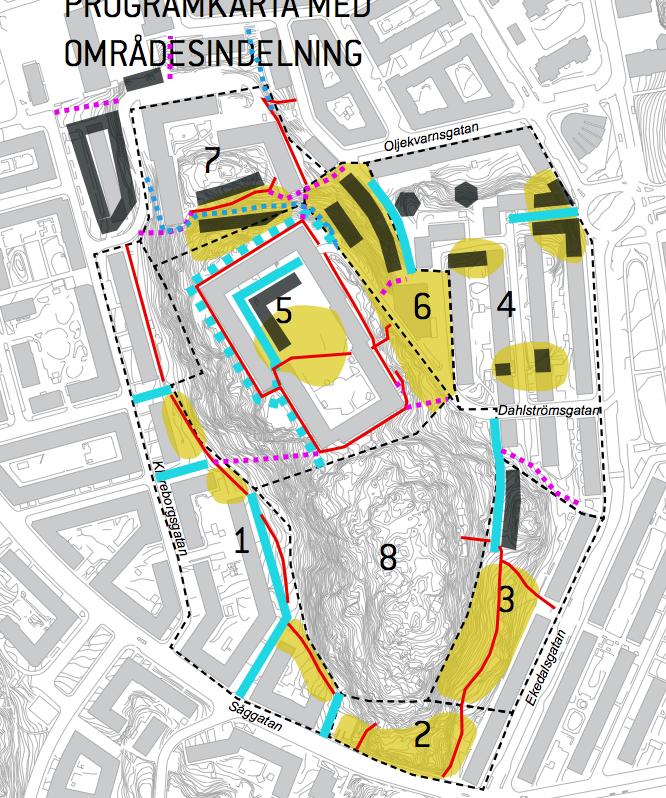 boendeparkering göteborg karta Yttrande över Program för Bostäder vid Godhemsberget   Yimby Göteborg boendeparkering göteborg karta