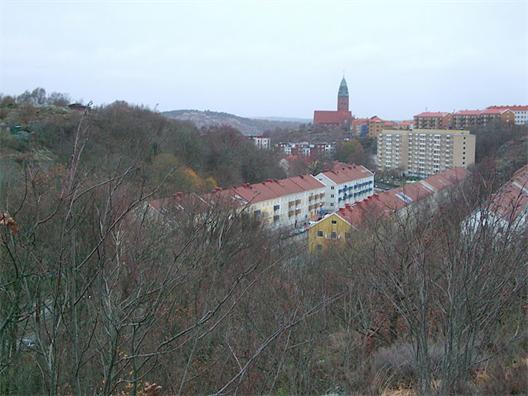 Vy norrut över Ekedalsgatan