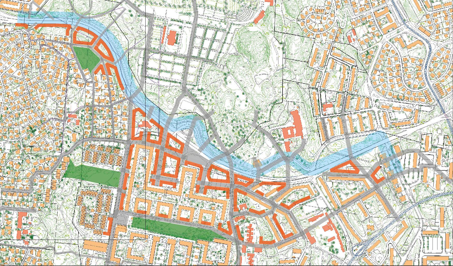 göteborg stad karta Det var en gång en stad en gångvänlig stad   Yimby Göteborg göteborg stad karta