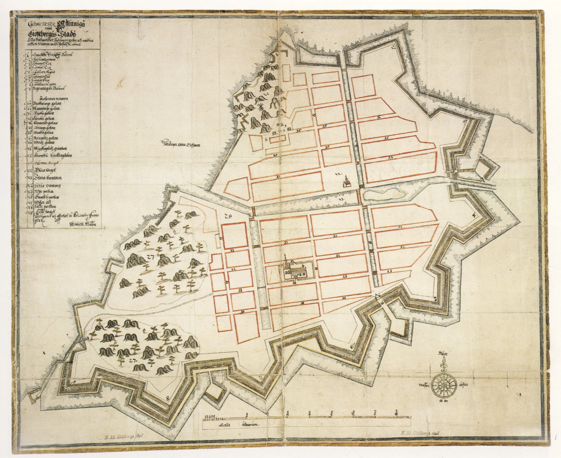 gammal karta göteborg Historiska bränder i Göteb  Yimby Göteborg gammal karta göteborg