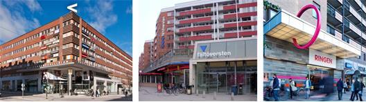 Stadsdelscentrum i Stockholm som används som förebilder