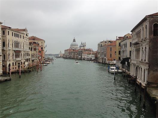 Den historiska italienska handelsstaden och stadsstaten Venedig. (Fotograferad av mig våren 2017)