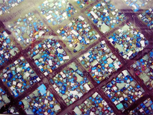 Roskildefestivalen med folk