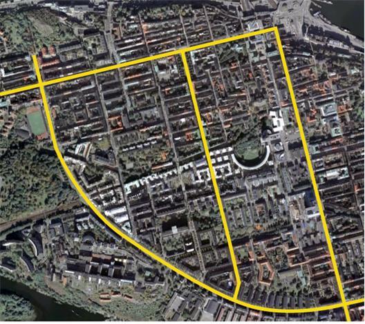 Hornsgatan, Götgatan, Ringvägen, Swedenborgsgatan+Grindsgatan